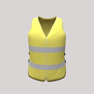 3D waistcoat