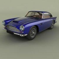 1958 aston martin db4 3D model