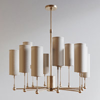 3D gramercy chandelier light model