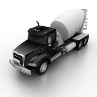 2018 mack granite mixer truck model