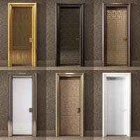 realistic doors ianus architectural 3D model
