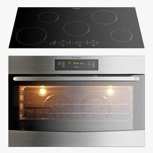 3D kitchen appliances westinghouse wvep916sb model