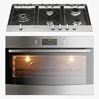 Westinghouse WHG952SB WVE914S oven and cooktop