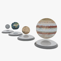 decor toy mars 3D model
