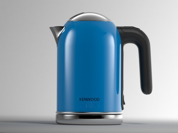 kenwood kettle 3D model