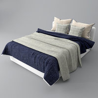 realistic bed model