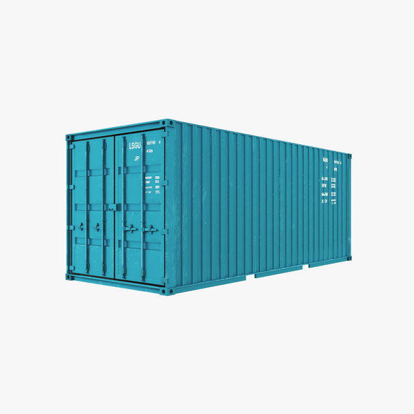 3D model container modelling
