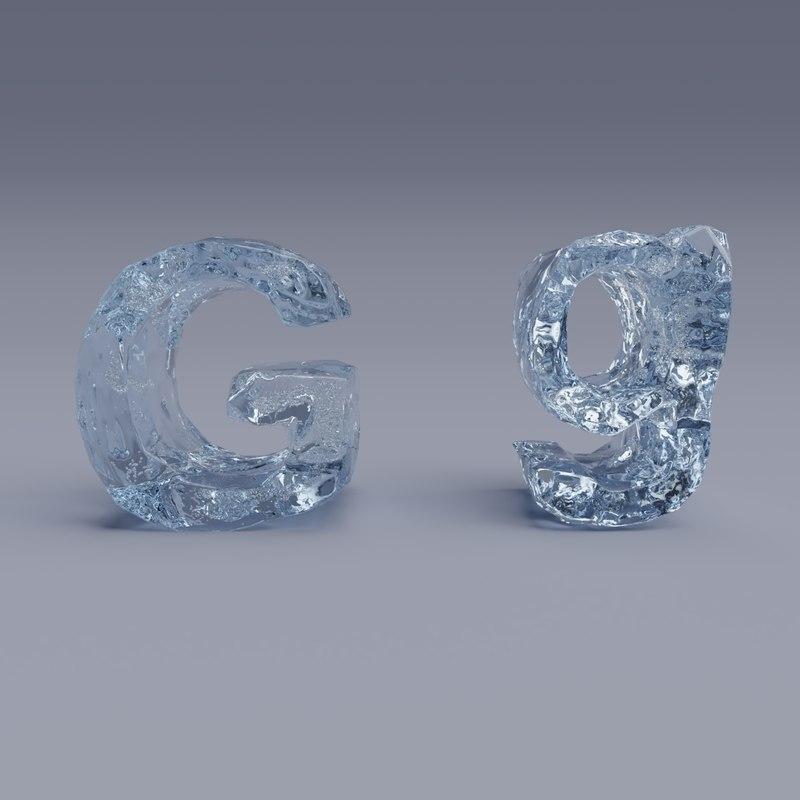 letter g model