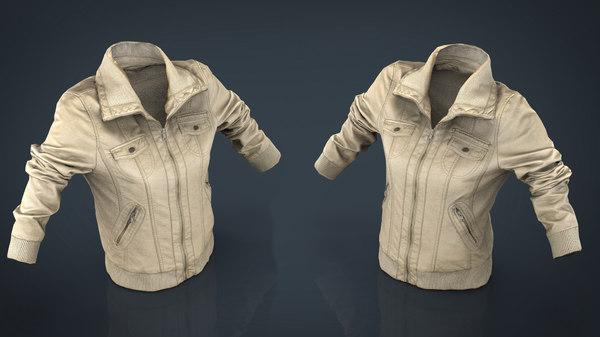 women jacket model