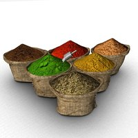 bags spices model