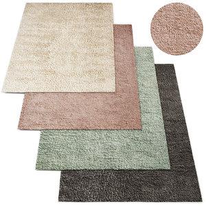 3D restoration rugs shag pelo