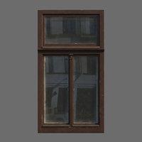 Window wood Low poly