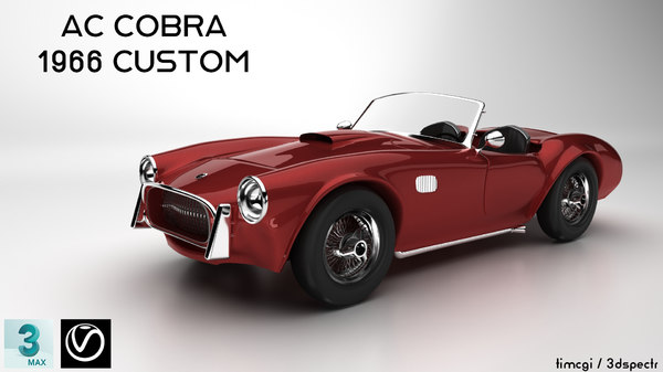 ac cobra modeled model