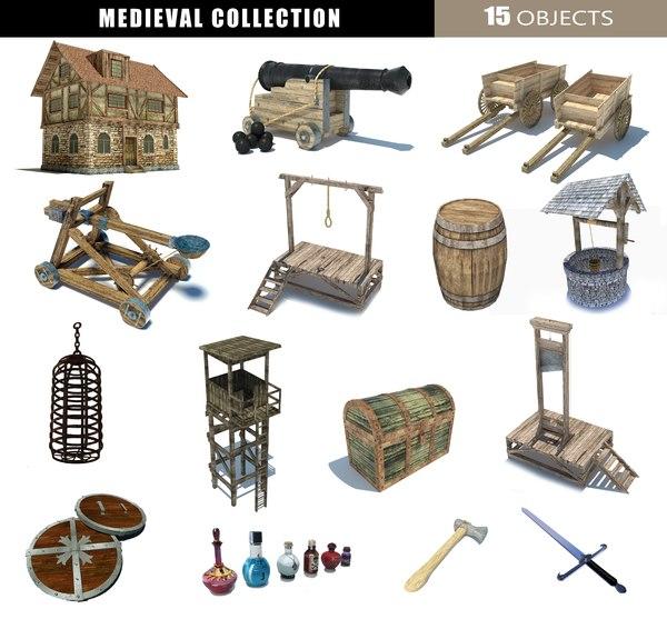 barrel chest cannon 3D