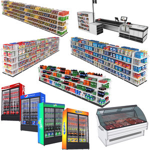 3D chips grocery shelves