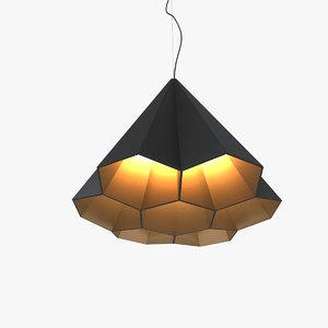 3D ariel zuckerman lamp light