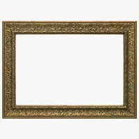 3D old picture frame