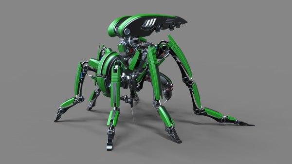 robot mosquito bot 3D
