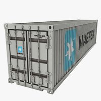 Shipping Container Maersk .Max