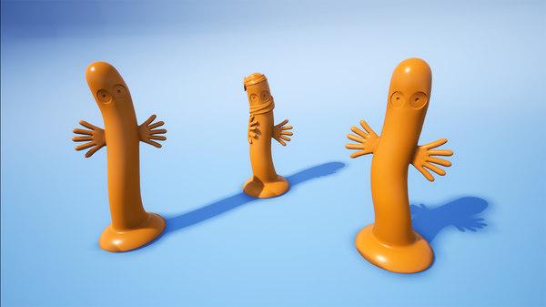 hattifatteners moomins 3D model