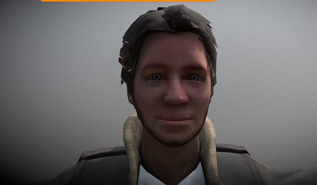 horror male 3D model