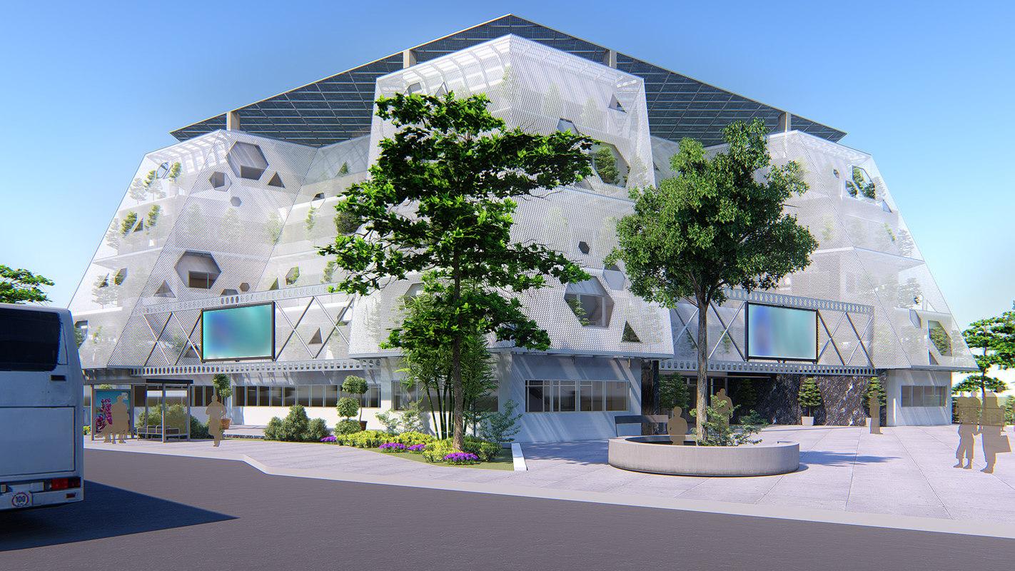 Modern Town Hall
