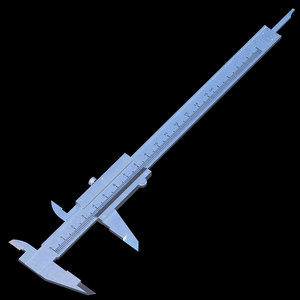 3D model caliper