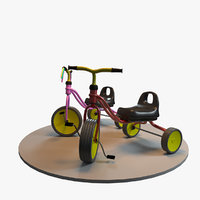 3D children s tricycle bicycles