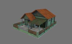 building house home 3D model