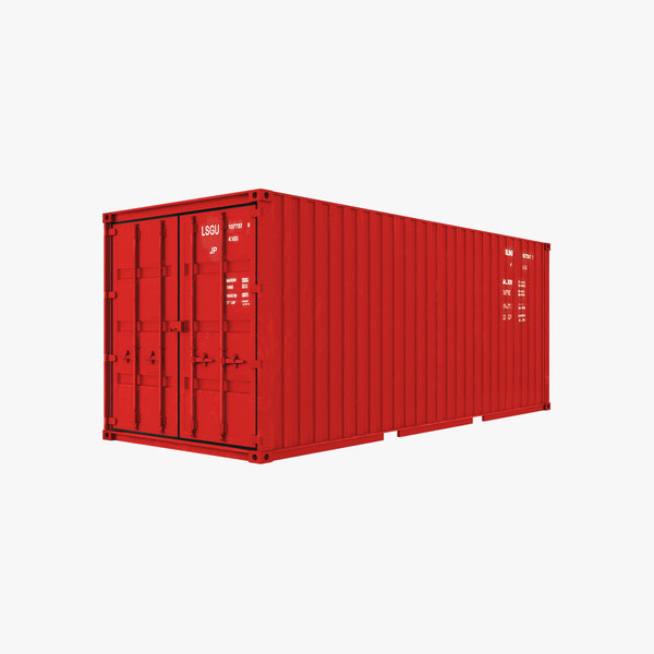 container modelling 3D