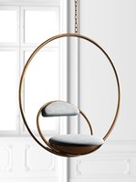 3D model hanging hoop chair