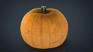 3D realistic pumpkin