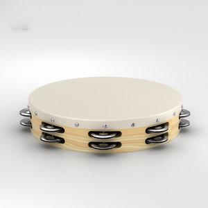tambourine percussion musical model