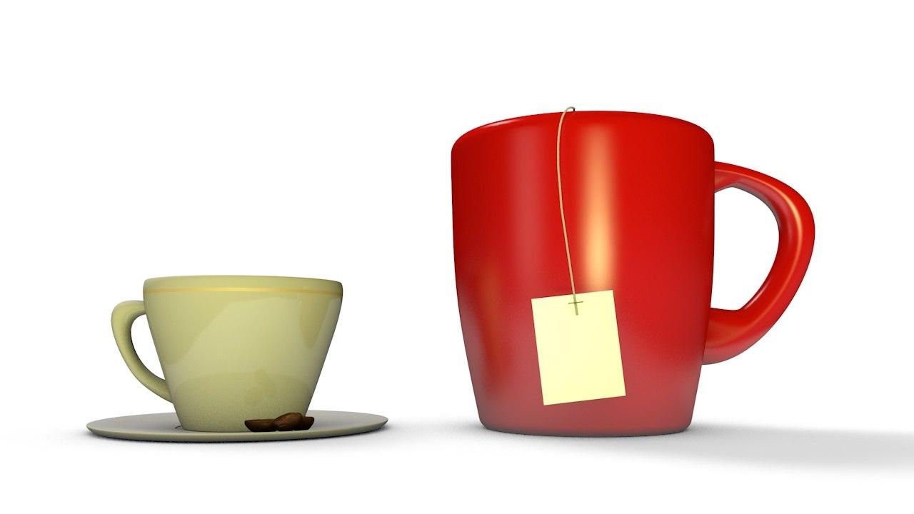 tea cup model