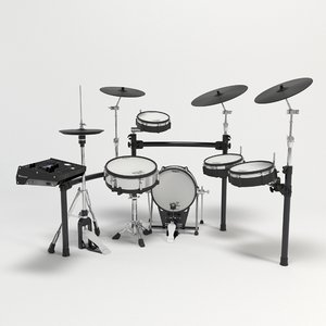 3D electronic drum set