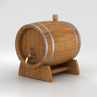 beer barrel bar model
