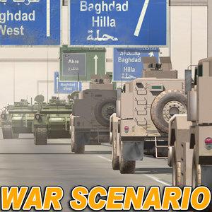 max middle east war scenario