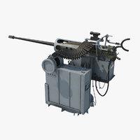 3D mark 38 mgs machine gun