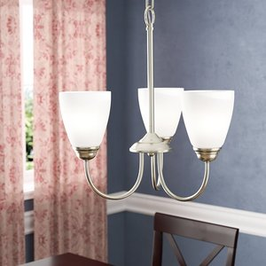 3D chandelier shades light model