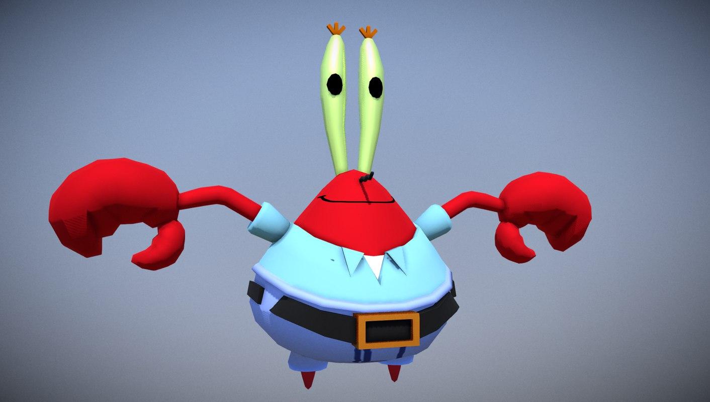 Free 3D krabs mr - TurboSquid 1341762