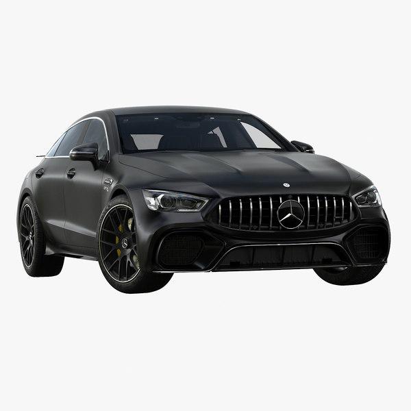 3D model 2019 mercedes-benz amg gt63