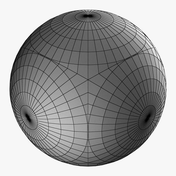 sphere ball shape 3D model