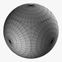 sphere ball shape 3D model