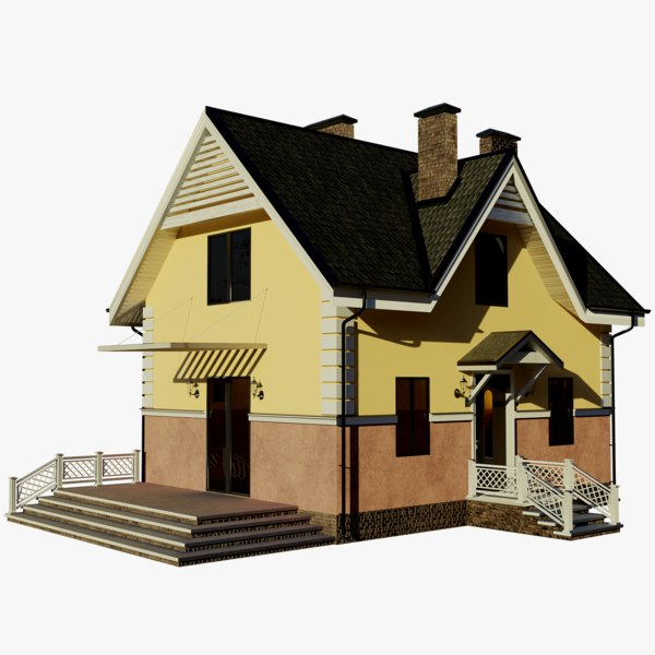 cottage 2 house 3D model