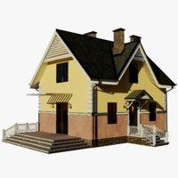 cottage 2 house 3D model