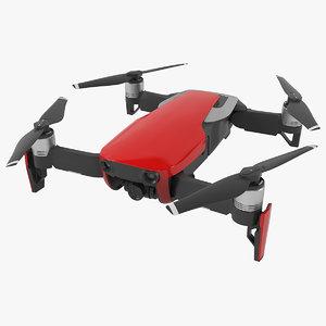 dji mavic air 3D model