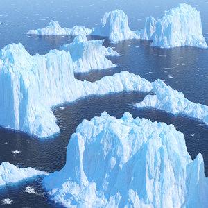 3D group icebergs