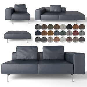 sofa amsterdam 3D model