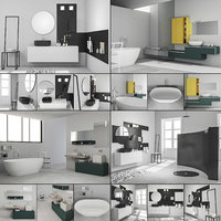 3D bathroom furniture 6 model