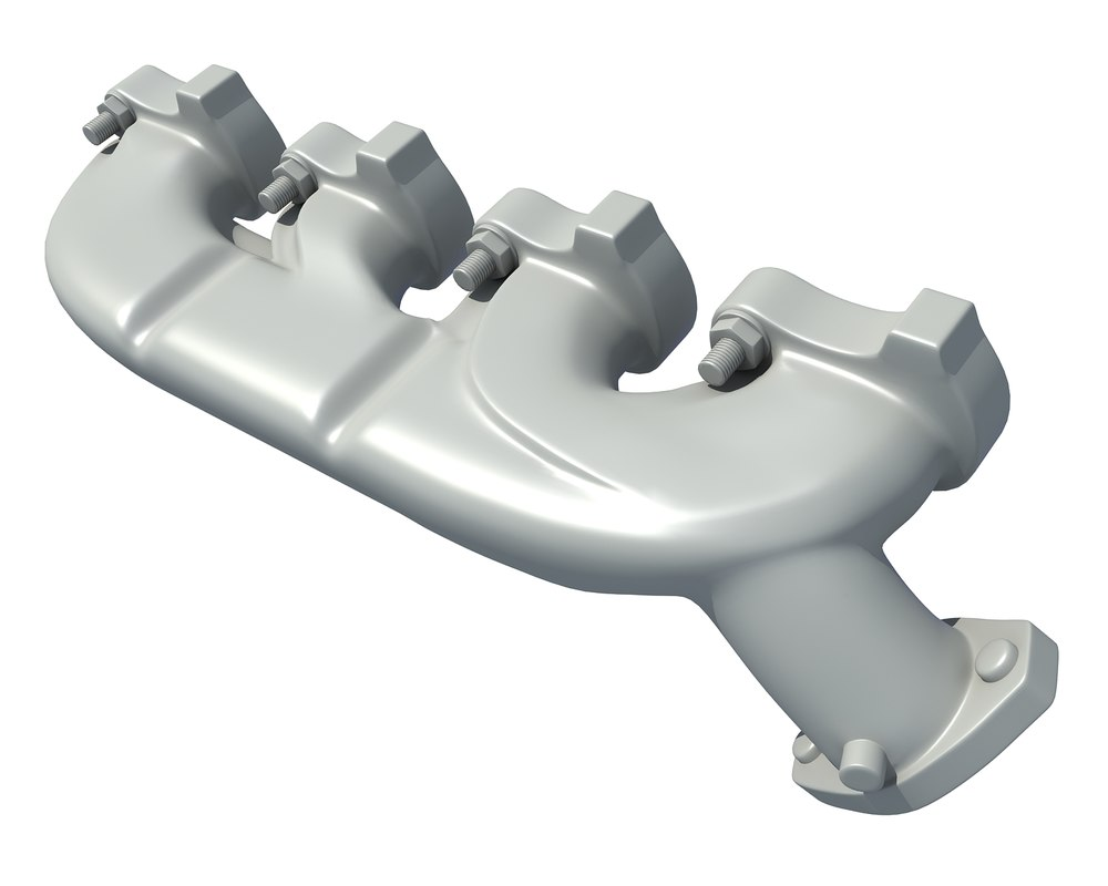 exhaust manifold 3D model